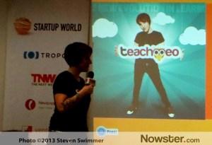 Teachmeo at Startup World