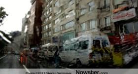 Rainy Street Istanbul