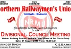 Divl Council Meeting NRMU 2015 Ambala Division