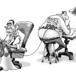 Obama Knitting New Jobs