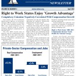 National Right To Work April 2012 Newsletter Front Page