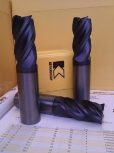 Carbide End Mill Kennametal F4AS
