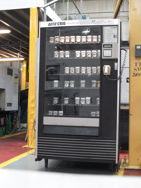 Auto Crib Vending Machine NSERT