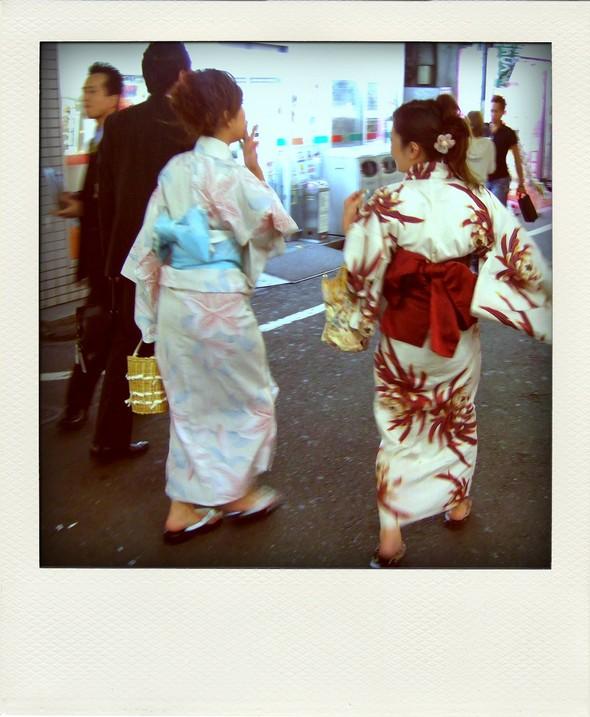 Mode Fashion Japon Japan Yukata Kimono Tokyo