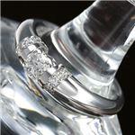 PT900/0.28ct プラチナ ダイヤモンドリング