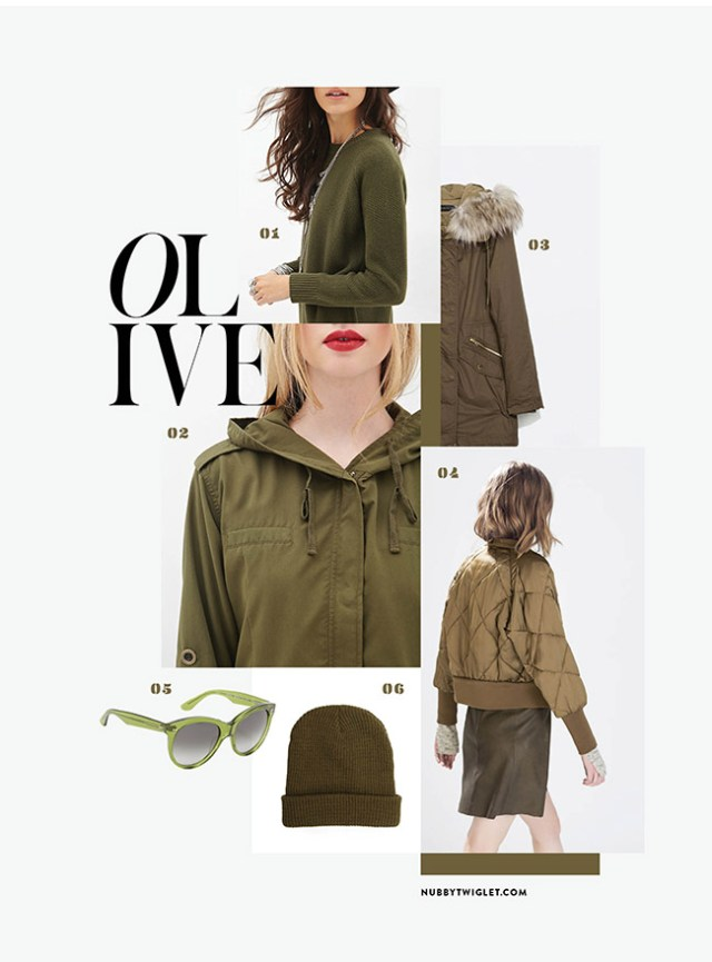 Nubby Twiglet | What I Wore: Olive