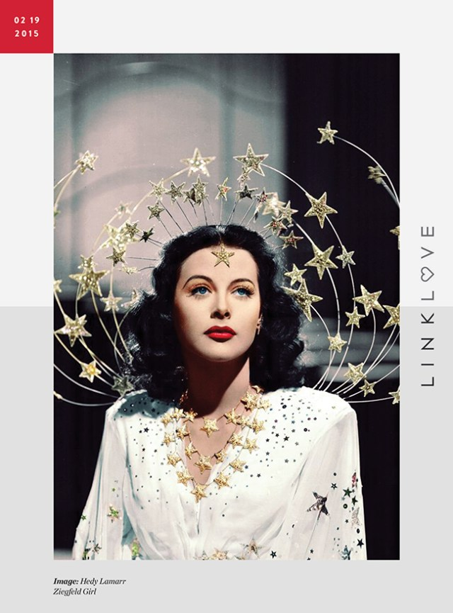 Nubby Twiglet | Link Love: Hedy Lamarr