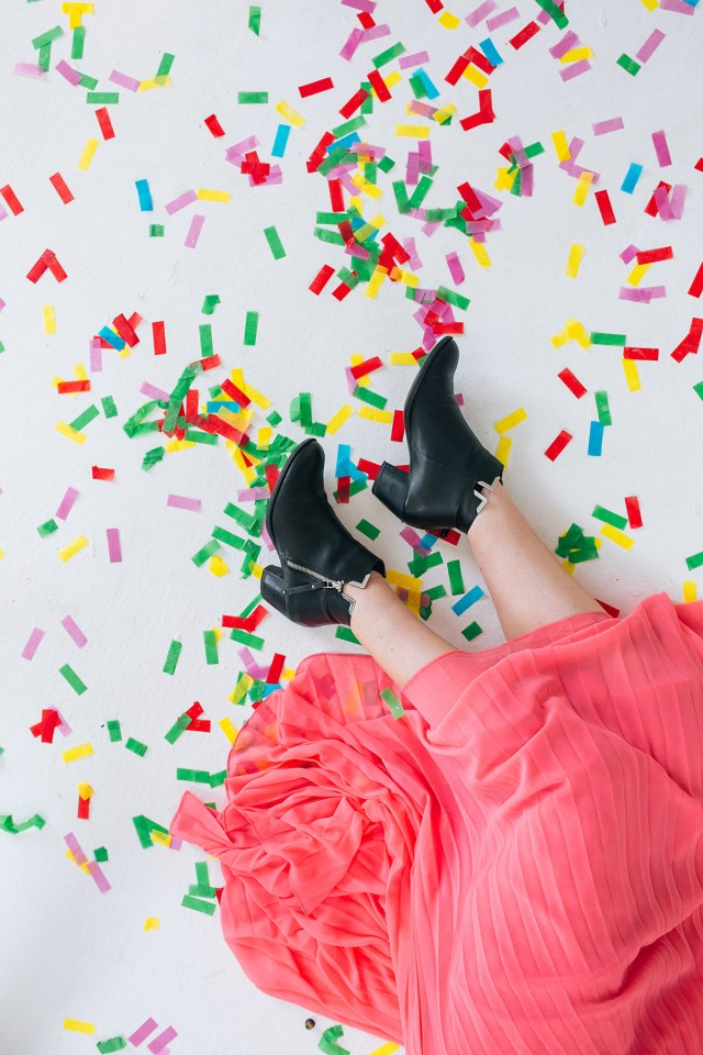 Nubby Twiglet | Colorful Confetti Madness at The Blogcademy London