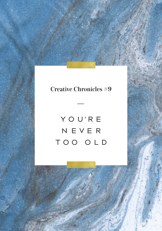 Nubby Twiglet | Creative Chronicles #9: Age Ain't Nothing But A Number. Use It To Your Advantage!