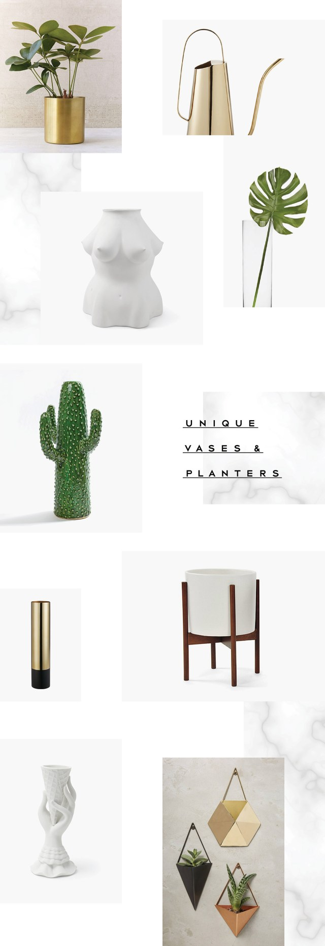 Latest & Greatest #35: Unique Planters and Vases