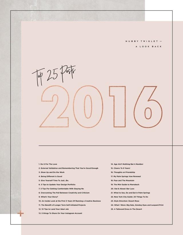 Nubby Twiglet | Top 25 Posts of 2016
