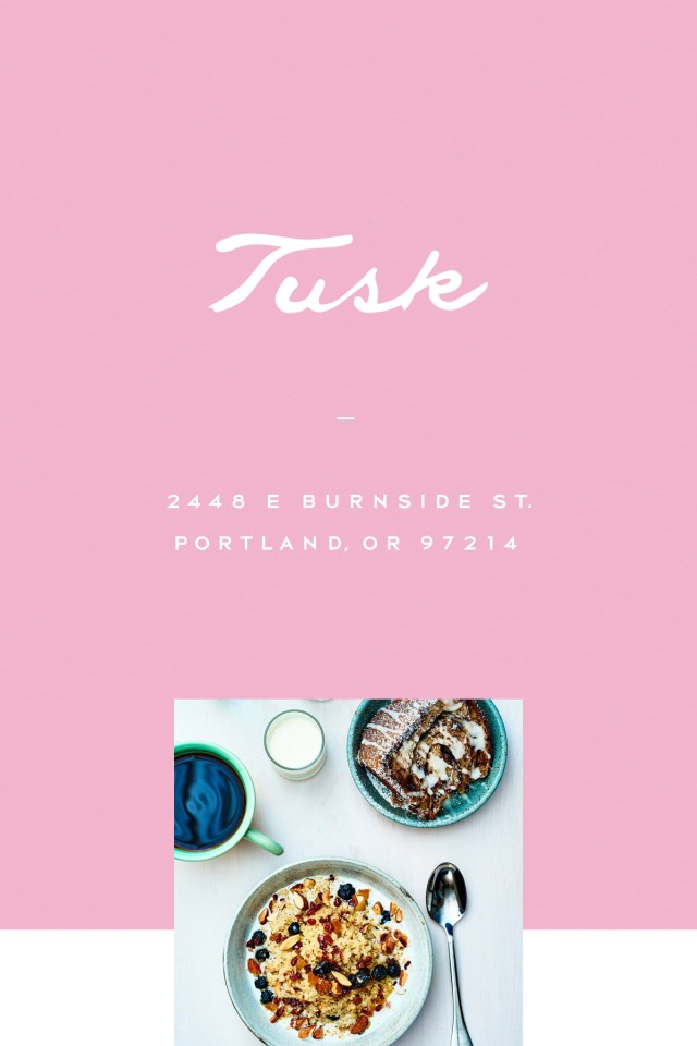 Nubby Twiglet | Out & About: Tusk Portland