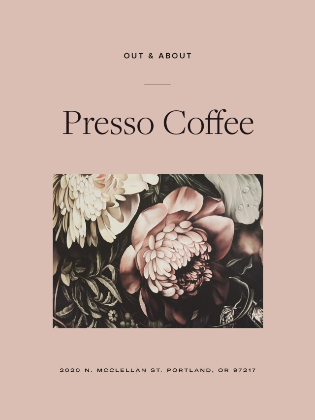 Nubby Twiglet | Out and About: Presso Coffee