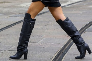 women's over the knee boots - how to wear - winter 2014