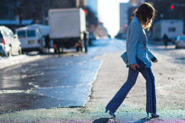what to wear to nyfw winter - winter 2014 nyfw street style trends