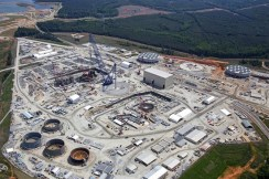 V.C. Summer nuclear plant construction in May of 2014. Source: Scana