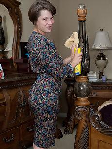 mature women teasing in stockings