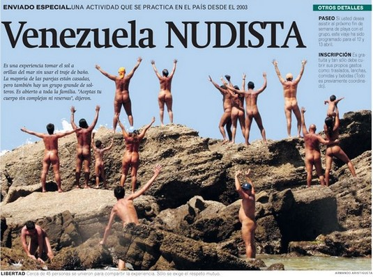 venezuela nudista