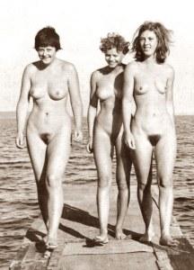 Nudismo Angela Merkel