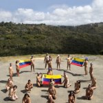 Desnudos y Unidos por la Paz en Venezuela