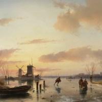 Exposición sobre los inviernos holandeses del siglo XIX en el Museo Teylers -Haarlem.