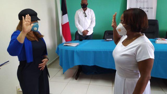 Perla Ramos es la nueva directora provincial del Ministerio de la Mujer en La Romana