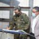 Ministro de Defensa visita sede de Seguridad Portuaria para conocer operaciones estratégicas en protección de puertos y buques