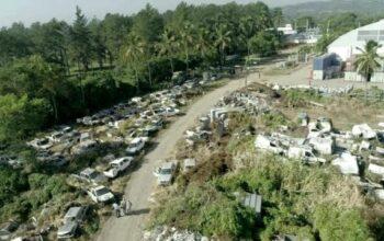Nueva gestión de Edenorte denunció que recibió cementerio de vehículos y transformadores