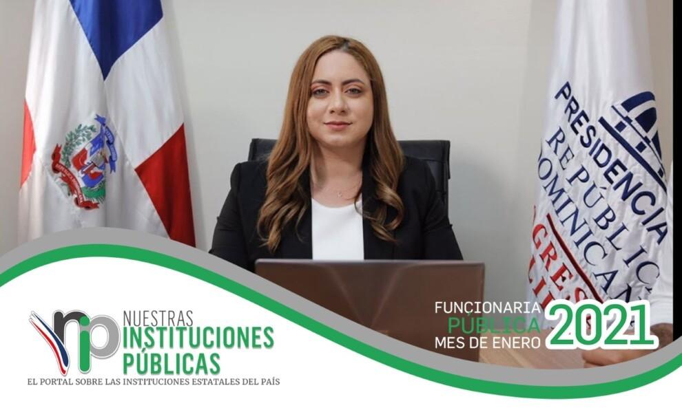Gloria Reyes, directora de Prosoli, es la funcionaria pública del mes de enero