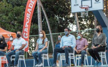 ADN y programa Pinta Mi Cancha entregan 7 instalaciones deportivas