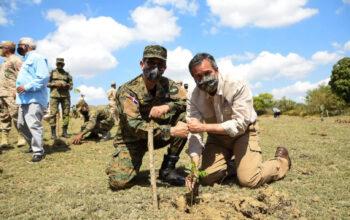 En el Día Internacional de los Bosques, Ministerio de Medio Ambiente inicia plantación de 35,500 árboles en zona fronteriza