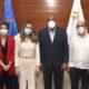 Secretaria de Comercio de España visita ministro de Energía y Minas