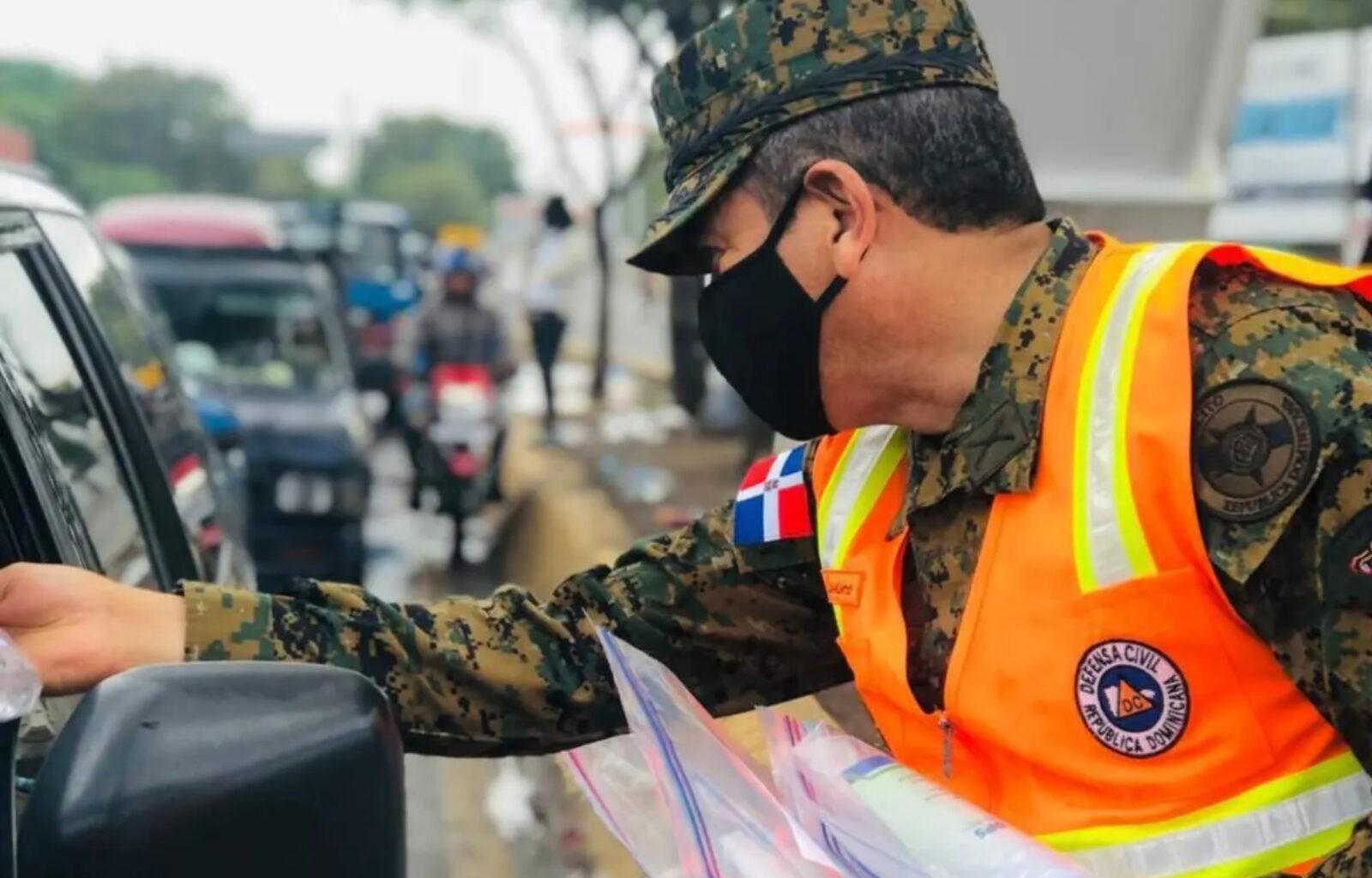 Miles de voluntarios de la Defensa Civil en labores prevención en DN y 31 provincias del país; énfasis en covid-19