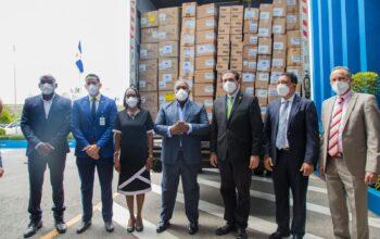 Gabinete de Política Social entrega por sexta ocasión donación de medicamentos al Ministerio de Salud Pública