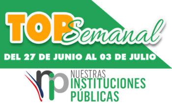 Top Semanal del 27 de junio al 3 de julio de 2021