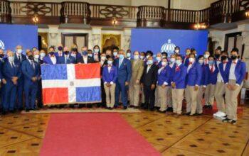 Abinader a los atletas que participan en Tokio: sepan que son orgullo dominicano