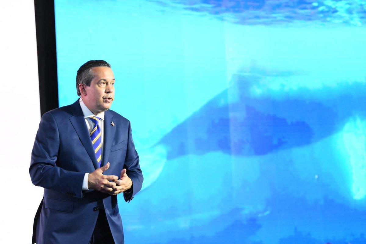 Ministerio de Medio Ambiente Jorge Mera presenta logros