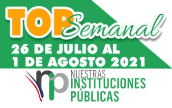 Top Semanal del 26 de julio al 1 de agosto de 2021