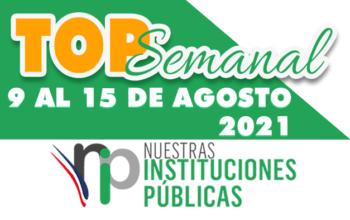 Top Semanal del 9 al 15 de agosto 2021