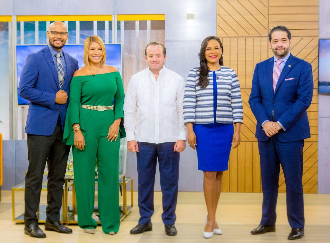 José Paliza declara que no habrá grandes cambios de funcionarios en este primer año de gestión de Abinader