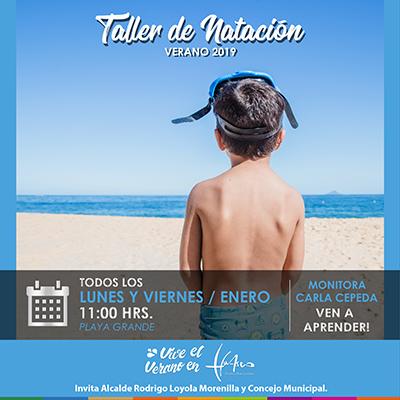 TALLER DE NATACION