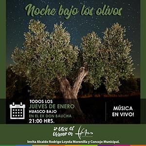 noche bajo los olivos OSCURO