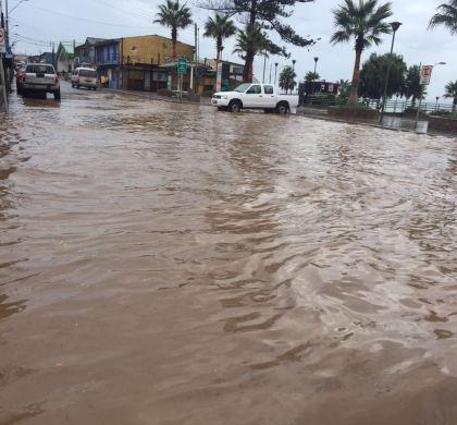 Huasco sufre embate de la peor lluvia en los últimos 20 años.