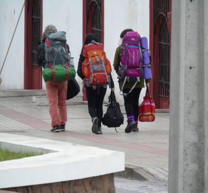 Récord de turistas en Huasco por el desierto florido.