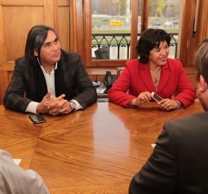 Diputada Provoste y alcalde Loyola se reúnen con ministra de Bienes Nacionales