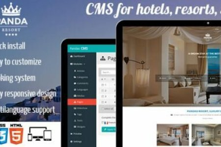 download nulled panda resort 2 cms for hotel booking system 384x253