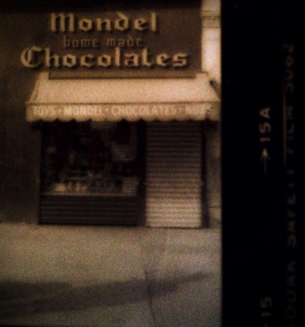 """Wonderland""                  Mondel's Homemade Chocolates, NYC 1985"