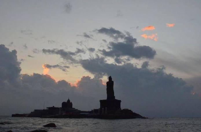 Tiruvalluvar statue and Vivekananda memorial