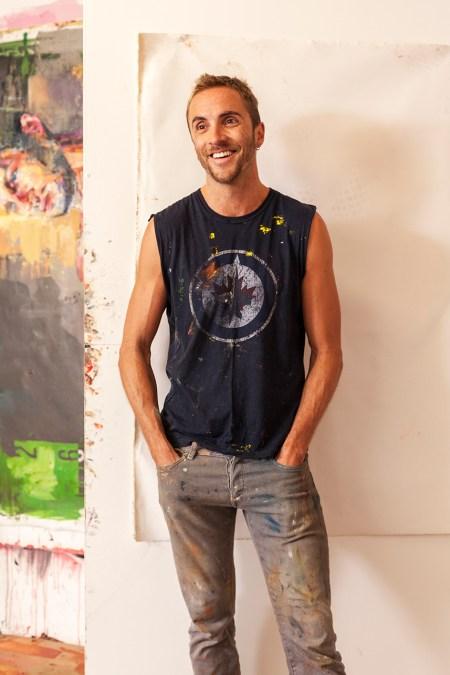 Salgado photo of artist