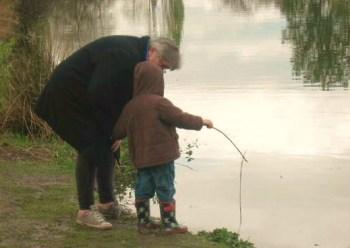 May 2011 - Jackson Fishing at Lake Commonwealth